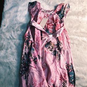 Pink floral dress!! :)